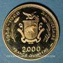 Monnaies Guinée. République. 2 000 francs 1970. Soyouz. (PTL 900/1000. 8 g)