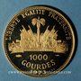 Monnaies Haïti. République. 1 000 gourdes 1973. (PTL 900/1000. 14,74 g)