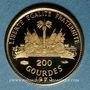 Monnaies Haïti. République. 200 gourdes 1973. (PTL 900‰. 2,91 g)