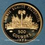 Monnaies Haïti. République. 500 gourdes 1973. (PTL 900‰. 7,28 g)