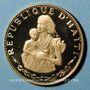 Monnaies Haïti. République. 500 gourdes 1973. (PTL 900 /1000. 7,28 g)