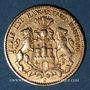 Monnaies Hambourg. 10 mark 1879 J. (PTL 900‰. 3,98 g). Montée