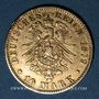Monnaies Hambourg. 10 mark 1879J. (PTL 900/1000. 3,98 g). Montée