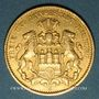 Monnaies Hambourg. 10 mark 1888J. (PTL 900/1000. 3,98 g). Montée