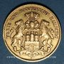 Monnaies Hambourg. 10 mark 1893J. (PTL 900/1000. 3,98 g)