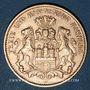 Monnaies Hambourg. 10 mark 1903 J. (PTL 900‰. 3,98 g)