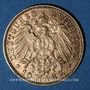 Monnaies Hambourg. 10 mark 1905J. (PTL 900/1000. 3,98 g)