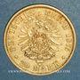 Monnaies Hambourg. 20 mark 1875 J. (PTL 900‰. 7,96 g)
