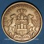 Monnaies Hambourg. 20 mark 1877 J. (PTL 900‰. 7,96 g)