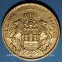 Monnaies Hambourg. 20 mark 1878J. (PTL 900/1000. 7,96 g)