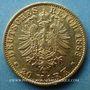 Monnaies Hambourg. 20 mark 1883 J. (PTL 900‰. 7,96 g)