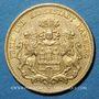 Monnaies Hambourg. 20 mark 1893J. (PTL 900/1000. 7,96 g)