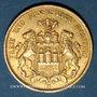 Monnaies Hambourg. 20 mark 1894 J. (PTL 900‰. 7,96 g)