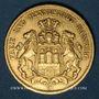 Monnaies Hambourg. 20 mark 1897 J. (PTL 900‰. 7,96 g)