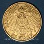 Monnaies Hambourg. 20 mark 1897J. (PTL 900/1000. 7,96 g)
