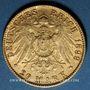 Monnaies Hambourg. 20 mark 1899J. (PTL 900/1000. 7,96 g)