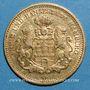 Monnaies Hambourg. 5 mark 1877 J. (PTL 900‰. 1,9910 g)