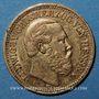 Monnaies Hesse. Louis IV (1877-1892). 10 mark 1878 H. (PTL 900‰. 3,98 g)