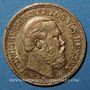 Monnaies Hesse. Louis IV (1877-1892). 10 mark 1878H. (PTL 900/1000. 3,98 g)