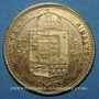 Monnaies Hongrie. François Joseph (1848-1916). 20 francs / 8 florins 1883KB. (PTL 900/1000. 6,45 g)