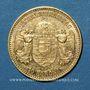 Monnaies Hongrie. François Joseph I (1848-1916). 10 couronnes 1892. (PTL 900/1000. 3,39 g)