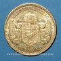 Monnaies Hongrie. François Joseph I (1848-1916). 10 couronnes 1893. (PTL 900‰. 3,39 g)