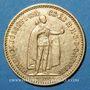 Monnaies Hongrie. François Joseph I (1848-1916). 10 couronnes 1894. (PTL 900‰. 3,39 g)