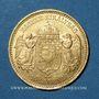 Monnaies Hongrie. François Joseph I (1848-1916). 10 couronnes 1894. (PTL 900/1000. 3,39 g)