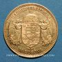 Monnaies Hongrie. François Joseph I (1848-1916). 10 couronnes 1900. (PTL 900/1000. 3,39 g)