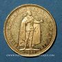 Monnaies Hongrie. François Joseph I (1848-1916). 10 couronnes 1901. (PTL 900‰. 3,39 g)
