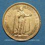 Monnaies Hongrie. François Joseph I (1848-1916). 10 couronnes 1901. (PTL 900/1000. 3,39 g)