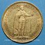 Monnaies Hongrie. François Joseph I (1848-1916). 10 couronnes 1902 KB. (PTL 900‰. 3,39 g)