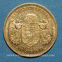 Monnaies Hongrie. François Joseph I (1848-1916). 10 couronnes 1902. (PTL 900/1000. 3,39 g)