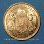 Monnaies Hongrie. François Joseph I (1848-1916). 10 couronnes 1903. (PTL 900‰. 3,39 g)