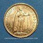 Monnaies Hongrie. François Joseph I (1848-1916). 10 couronnes 1903. (PTL 900/1000. 3,39 g)