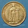 Monnaies Hongrie. François Joseph I (1848-1916). 10 couronnes 1905. (PTL 900/1000. 3,39 g)
