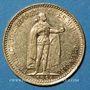 Monnaies Hongrie. François Joseph I (1848-1916). 10 couronnes 1906. (PTL 900/1000. 3,39 g)