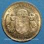 Monnaies Hongrie. François Joseph I (1848-1916). 10 couronnes 1907. (PTL 900‰. 3,39 g)