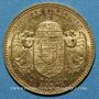 Monnaies Hongrie. François Joseph I (1848-1916). 10 couronnes 1909 KB. (PTL 900‰. 3,39 g)
