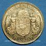 Monnaies Hongrie. François Joseph I (1848-1916). 10 couronnes 1909. (PTL 900‰. 3,39 g)
