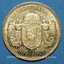 Monnaies Hongrie. François Joseph I (1848-1916). 10 couronnes 1909. (PTL 900/1000. 3,39 g)