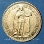 Monnaies Hongrie. François Joseph I (1848-1916). 10 couronnes 1910. (PTL 900‰. 3,39 g)