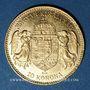Monnaies Hongrie. François Joseph I (1848-1916). 10 couronnes 1910. (PTL 900/1000. 3,39 g)