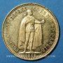 Monnaies Hongrie. François Joseph I (1848-1916). 10 couronnes 1912. (PTL 900‰. 3,39 g)