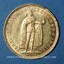 Monnaies Hongrie. François Joseph I (1848-1916). 10 couronnes 1912.. (PTL 900/1000. 3,39 g)