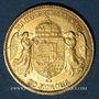 Monnaies Hongrie. François Joseph I (1848-1916). 20 couronnes 1893 KB. (PTL 900‰. 6,775 g)