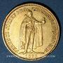 Monnaies Hongrie. François Joseph I (1848-1916). 20 couronnes 1893KB. (PTL 900/1000. 6,775 g)