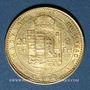 Monnaies Hongrie. François Joseph I (1848-1916). 20 francs / 8 florins 1880 KB. (PTL 900‰. 6,45 g)