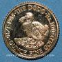 Monnaies Ile Maurice. 100 roupies 1988. (PTL 917‰. 3,412 g)