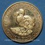 Monnaies Ile Maurice. 500 roupies 1988. (PTL 917‰. 17,025 g)